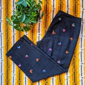 Vintage Butterfly Pants